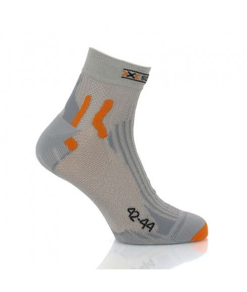 "Chaussettes de Running X-SOCKS ""SPEED METAL GREY"""