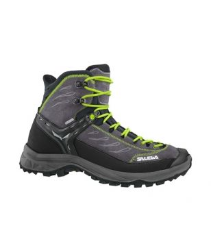 Chaussures Marche Salewa MS Hike Trainer Mid Noir Mixtes
