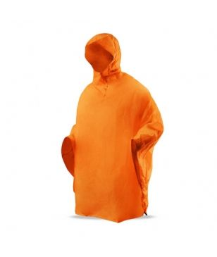 Trimm Poncho Basic Orange Unisex