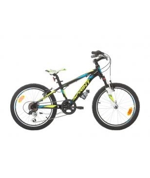 "Sprint Mountainbike Apolon 20"" 6 SP Schwarz Kinder"