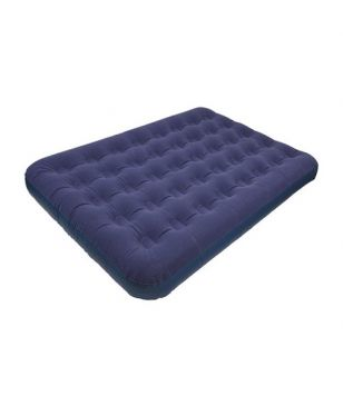 Summit Aufblasbare Matratze Luxury Double Airbed Blau Unisex