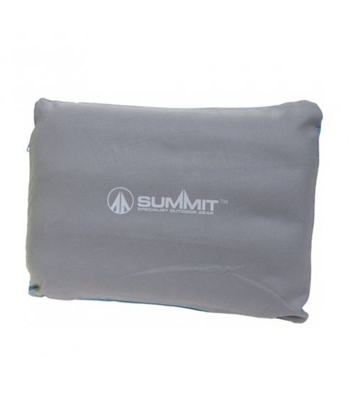 Coussin Summit Inflatable Pillow Soft Gris Mixtes