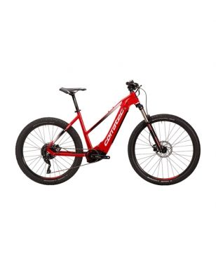 Corratec E-Mountainbike E-Power X Vert Race Trapez Rot Unisex