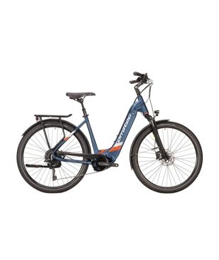Vélo Electrique Corratec E-Power Urban 28 CX6 10S Wave Shadow Bleu Mixtes