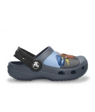 Crocs Freizeitschuhe Cars Mater & Finn McMissile Race into Action Schwarz Kinder