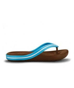 Crocs Flip-Flop Crocband Flipswitch Electric Blau Kinder