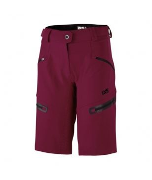 Ixs Mountainbike Fahrrad Short Sever Bordeaux Damen