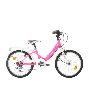 "Bikesport Fahrrad Bijou City 20"" 6 SP Rosa Kinder"