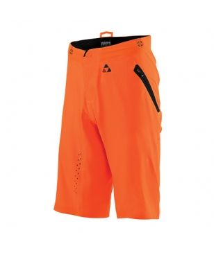 Short Vélo VTT 2 en 1 Ixs Celium AM Orange Hommes