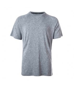 T-Shirt Technique laine Bamboo Endurance Marro Gris Hommes