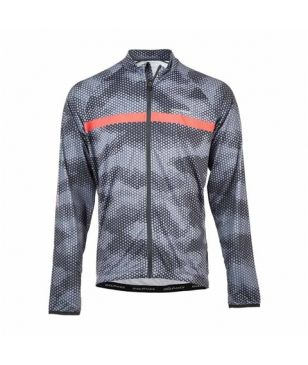 Pull Longues Manches Vélo Endurance Antioue Orange Hommes