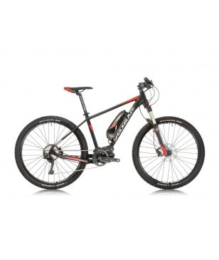 Shockblaze E-Mountainbike R7 Team E8000 Schwarz Unisex