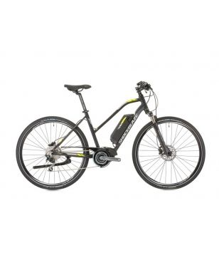 Shockblaze E-Mountainbike Pulse E6000 Deore Schwarz Unisex