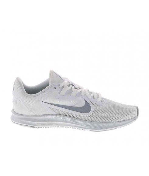 Chaussures Running Nike Downshifter 9 W Blanc Mixtes