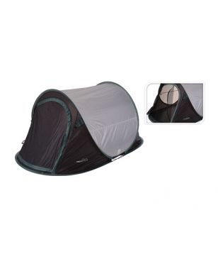 Tente de Camping Pop Up Redcliffs 2 Personnes Vert Mixtes