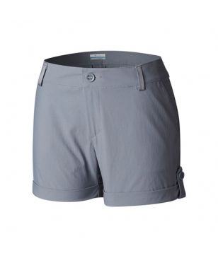 Short Trekking Columbia Firwood Camp Gris Femmes