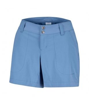 Columbia Trekking Short Kurz Saturday Trail Blau Damen