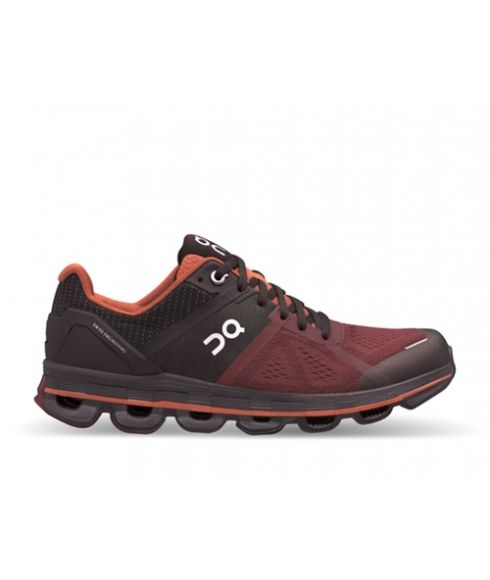 Chaussures Running On Cloudace Rouge Femmes
