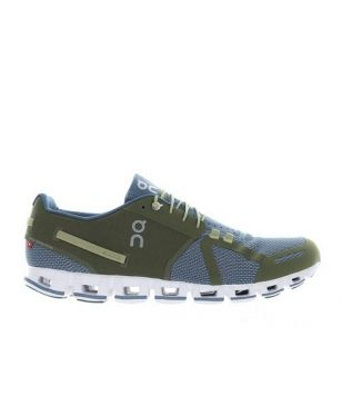 Chaussures Running On Cloud Olive Vert Hommes
