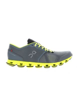 Chaussures Running On Cloud X Neon Gris Hommes