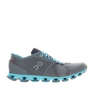 On Runningschuhe Cloud X W Grau Damen