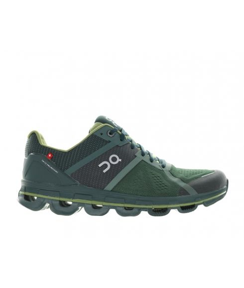 Chaussures Running On Cloudace Ivy Vert Hommes