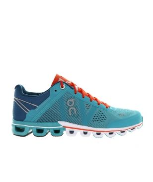 On Runningschuhe Cloudflow W Atlantis Blau Damen