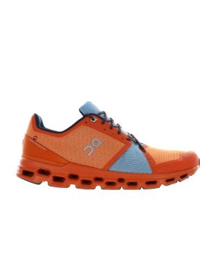 Chaussures Running On Cloudstratus Orange Hommes