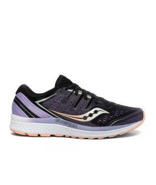 Chaussures Running Saucony Guide Iso2 Violet Femmes