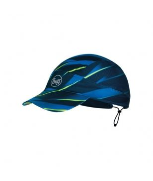 Casquette Running Buff Pack Run Bleu Mixtes