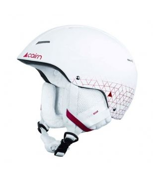 Casque Ski Cairn Andromed Blanc Mixtes