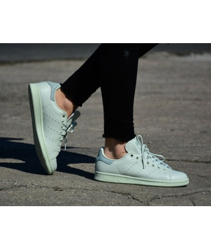 Chaussures Loisirs Adidas Stan Smith Blanc Mixtes