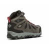 Chaussures Marche Columbia W Lincoln Pass Mid Ltr Outdry Brun Femmes