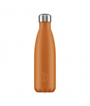 Chilly's Isotherm Trinkflasche Chrome 0.5L Burnt Orange Unisex