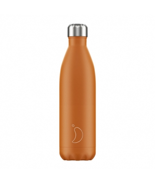 Chilly's Isotherm Trinkflasche Matte 0.75L Burnt Orange Unisex