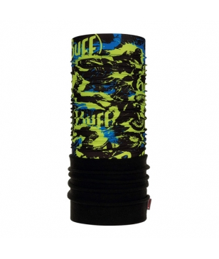 Cache Cou Buff Air Cross Polaire Vert Enfants