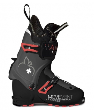 Movement Tourenskischuhe TLT Free Tour W Ultralon Schwarz Unisex