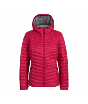 Veste Isolante Mammut Albula In Hooded Rose Femmes