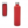 Gourde Isotherme B&CO Geo Rubber 0.5L Rouge Mixtes