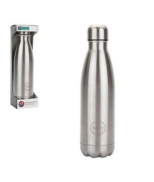 Gourde Isotherme B&CO Hamelin Stainless Steel 0.5L Argent Mixtes