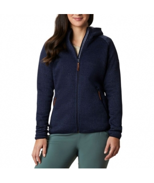 Columbia Fleecejacke Chillin Fleece Dunkel Blau Damen