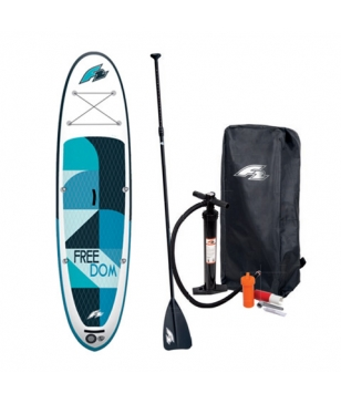 F2 Stand Up Paddle Set Freedom Night 10.5 Blau Unisex