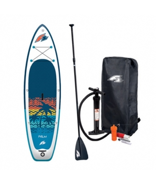 F2 Stand Up Paddle Set Palm 10.5 Rot Unisex