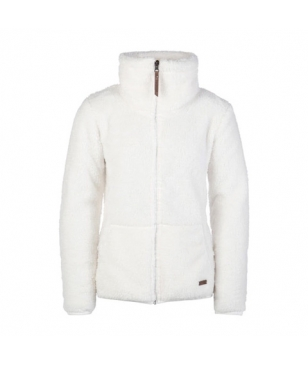 Protest Outdoor Fleece Riri 18 Jr Full Zip Hoody Weiss Mädchen