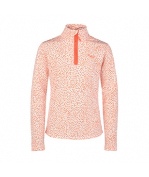 Pull Manches Longues Protest Marina Jr 1/4 Zip Orange Filles
