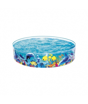 Piscine Gonflable Bestway Fill and Fun Multicolore Enfants
