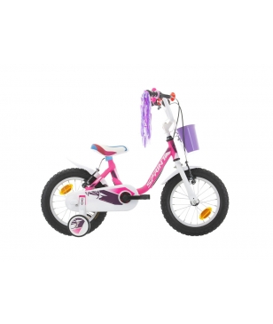 "Sprint Mountainbike Alice 14"" Neon Rosa Kinder"