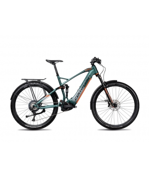 Corratec E-Mountainbike E-Power MTC 120 Elite Fusion Tube Grau Unisex