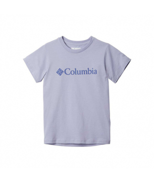Columbia T-Shirt CSC Basic Logo Weiss Kinder
