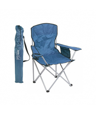 Chaise Camping Summit Quebec Folding Bleu Mixtes